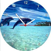Relógio De Parede Redondo Ilhas Cook