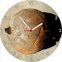 Relógio De Parede Redondo Fruta Jenipapo