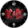 Relógio Parede Decoração Banda Rock Ac/dc