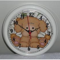 Relógio De Parede Analogico Infantil Novo Leilao *
