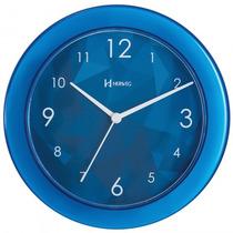 Relógio Parede Herweg 6678 088 Azul Analógico - Refinado