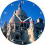 Relógio De Parede Redondo Personalizado Castelo Castle