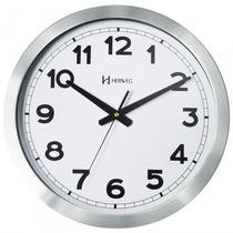 Relógio Parede Herweg 6429 079 Prata Analógico - Refinado