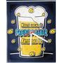 Relógio Parede Proibido Beber Antes Das 6 Cerveja Skol