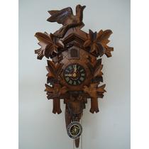 Relógio Cuco Clássico Mecânico A Corda Diária Alemão 636