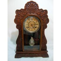 Antigo Relógio Ansonia - Eua- Séc Xx - Capelinha