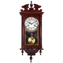 5353 - Relógio Carrilhão De Parede Novo + Garantia + Nf