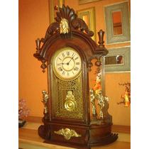 Incrível: Relógio Ansonia Triumph Mirrorside - New York/1882
