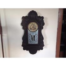 Relógio De Parede Antigo Ansônia - Modelo Vovózinha