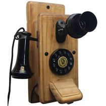 Telefone Antigo Retro Vintage Minitel Imbuía