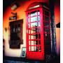 Cabine De Telefone Inglesa Imperdível! Ler Todo O Anúncio