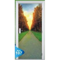 Adesivo 123 Porta Quarto Sala Caminho Natureza 107