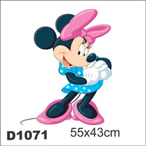 Adesivo D1071 Minnie Mikey Mouse Disney Decorativo Kid