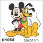 Adesivo D1064 Mikey E Pluto Disney Decorativo Kid Criança