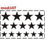 Adesivo I47 Estrelas Estrelinhas Quarto Menino Menina Infant
