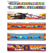 Adesivo Decorativo Parede Infantil Border Mcqueen Cars Carro