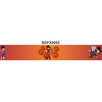 Adesivo Bdfx0065 Dragon Ball Z Border Faixa Quarto Do Bebê