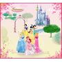 Lindos Adesivos De Parede Princesas Disney Painel Grande