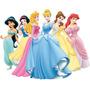 Princesas Disney Adesivo De Parede Já Recortado Lindos