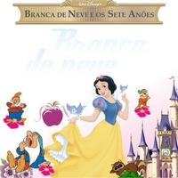 Adesivo Parede Decorativo Kit Branca De Neve Disney Rln123
