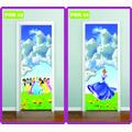 Adesivo Infantil P/ Portas Princesas Toy Store Monster High