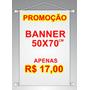 Banner Fotográfico Em Lonna 50x70