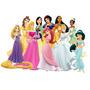 Adesivo Decorativo Parede Princesas Disney Quarto Meninas