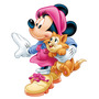 Adesivo Decorativo Infantil Meninas Disney Minie Minnie