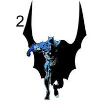 Adesivos De Parede Infantil Batman E Robin (frete Grátis)
