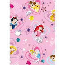 Papel Parede Contact Princesas 45 Cm X 10 Metros 057417