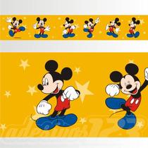 Adesivo 123 Faixa Border Disney Mickey Mouse 05 Un Mod 148