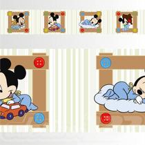 Adesivo 123 Faixa Border Infantil Mickey 05 Un Mod 331