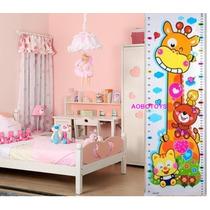 Adesivo Girafinha Para Decorar E Medir Altura De Crianças