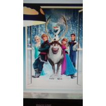 Adesivo De Parede Frozen Grande 3d