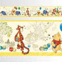 Adesivo 123 Faixa Border Ursinho Pooh Disney 05 Un Mod 269