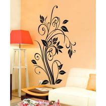 Adesivo Decorativo Florais Arabescos Flores Flor Sala Decore