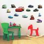 Adesivos Decorativos De Parede Carros - Cars Disney
