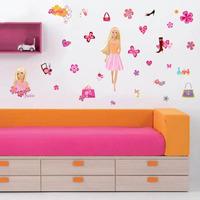 Adesivo Decorativo De Parede - Barbie - Decoração Meninas