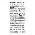 Adesivos Decorativos Frases Pensamentos Personalizados