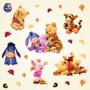 Adesivo Decorativo De Parede - Ursinho Puff - Pooh 138