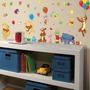 Adesivo Decorativo De Parede - Ursinho Puff - Pooh