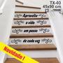 Adesivo Decorativo Papel De Parede - Degraus Da Escada Novo!