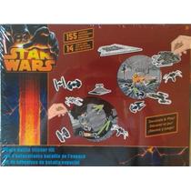 Kit De Stickers E Punch-outs Batalha Espacial - Star Wars