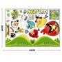 Adesivo De Parede Decorativo Infantil Angry Birds