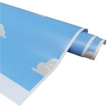 Adesivo 123 Parede Decorativo Textura Toy Story Nuvens 22