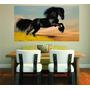 Adesivo Parede Decoração Sala Imagem Cavalo Cowboy Aras
