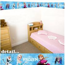 Faixa Decorativa Quarto - Border - 5m Frozen -frete Grátis