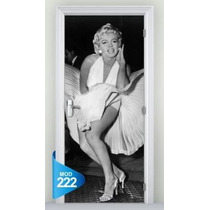 Adesivo 123 Porta Ator Filme Cinema Al Pacino Marilyn Monroe
