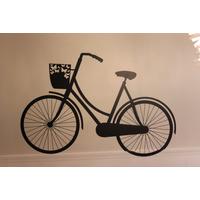 Adesivo De Parede Bicicleta Frete Grátis