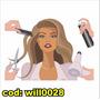 Adesivo Decorativo Cabelo De Mulher Salão De Beleza Will0028